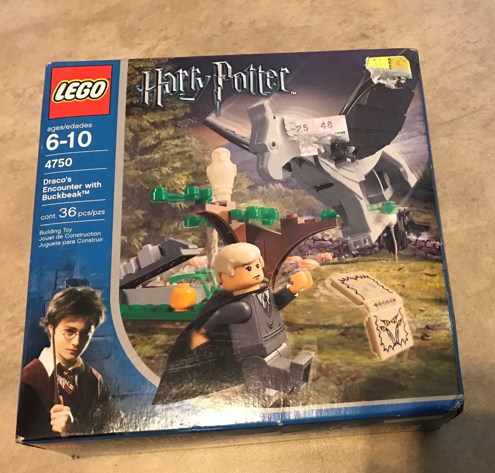 Set 4750 Lego Harry Potter Dracos encuentro con Buckbeak Nuevo Sellado De Fábrica 36 PC