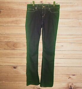 Joe-039-s-Jeans-Starlet-Womens-Dark-Wash-5-Pocket-Jeans-2-Metal-Emblems-Meas-Sz-32