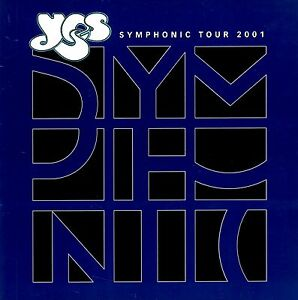 YES-2001-SYMPHONIC-TOUR-CONCERT-PROGRAM-BOOK-BOOKLET-JON-ANDERSON-NMT-2-MINT