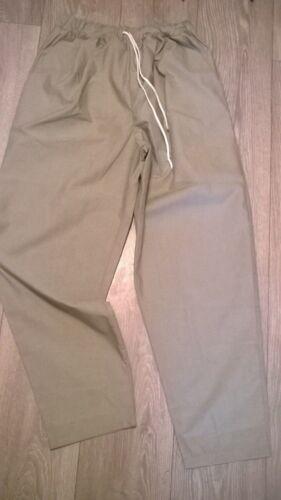Donna Grigio Chiaro SCRUBS NHS Ospedale Pants pantaloni Taglia 14 gamba regolare ED187