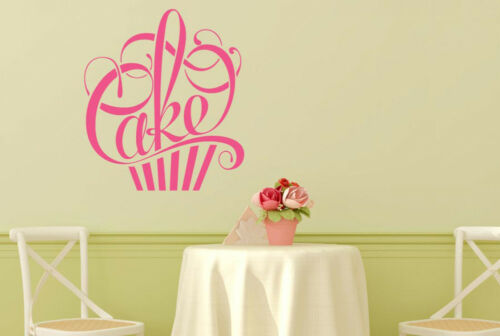 Writing In Form Of A Cake Wall Stickers Vinyl Art Decals