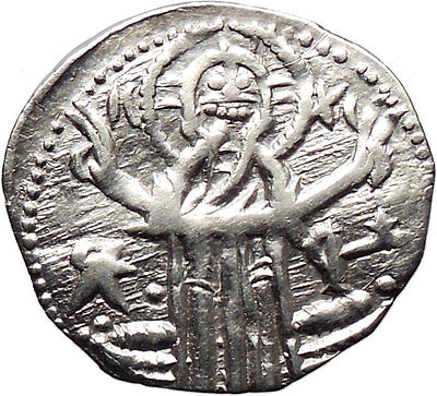 IVAN ALEXANDER MICHAEL ASEN IV 1331AD Rare Silver Coin  i30374  JESUS CHRIST