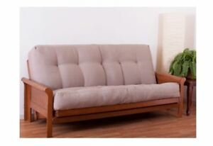 Blazing Needles Futon Mattress Full Size 10 Inch Brown Sofa Bed