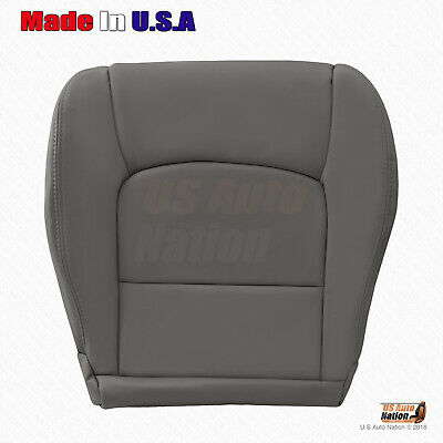 Gray Seat Armrest Covers Synthetic Leather For 98-07 Lexus LX470