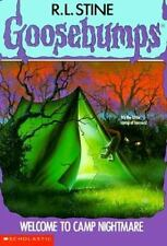 Welcome to Camp Nightmare (Goosebumps, No 9) by R. L. Stine, Good Book