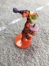 "(E1) 3.25"" Disney Winnie the Pooh's Tigger Birthday pvc toy figure cake topper"