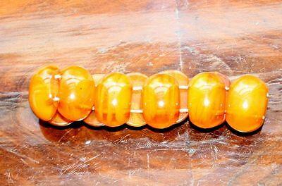 Material Ungedeutet Durchm 9 Cm NüTzlich FüR äTherisches Medulla Bernstein Farben 32 Gr Logisch Armband Bakelit