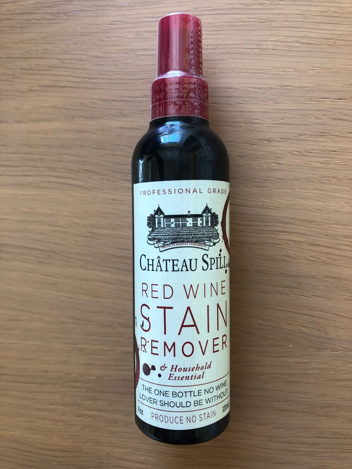Chateau Spill Red Wine Stain Remover 4 Ounce Spray Bottle 120ml For Sale Online Ebay