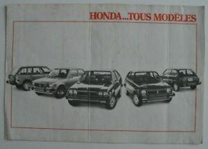 HONDA-CIVIC-ACCORD-1978-dealer-brochure-catalog-French-Canada