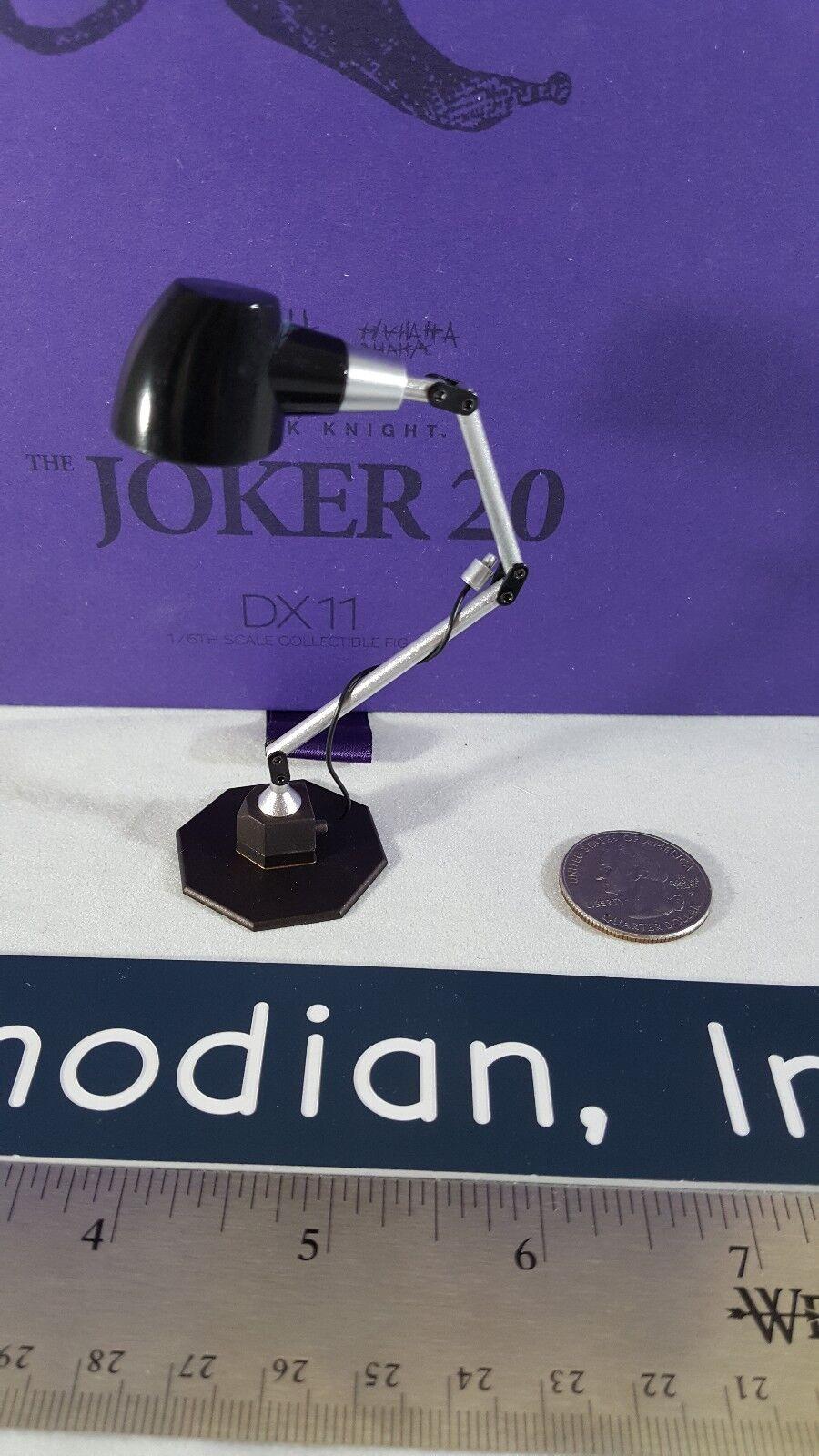 Heißes spielzeug exklusive dx11 dark knight 1   6 joker 2.0 action - figur ist lampe nur