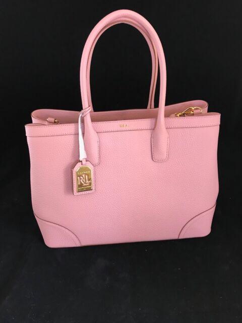 35bf639caa8c BNWT RALPH LAUREN Superb Tea Rose City Tote Bag With Dust Bag SAVE £155!