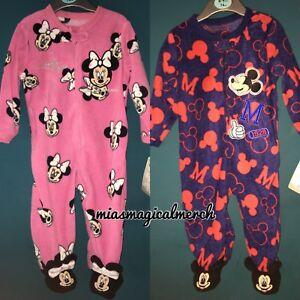 be0412314 Brand New Primark Disney Baby Mickey/Minnie Fleece Baby Grow 2 To ...