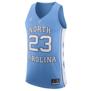 646f3ef42f6 NIKE North Carolina Tar HEELS Michael Jordan 23 Stitched Basketball ...