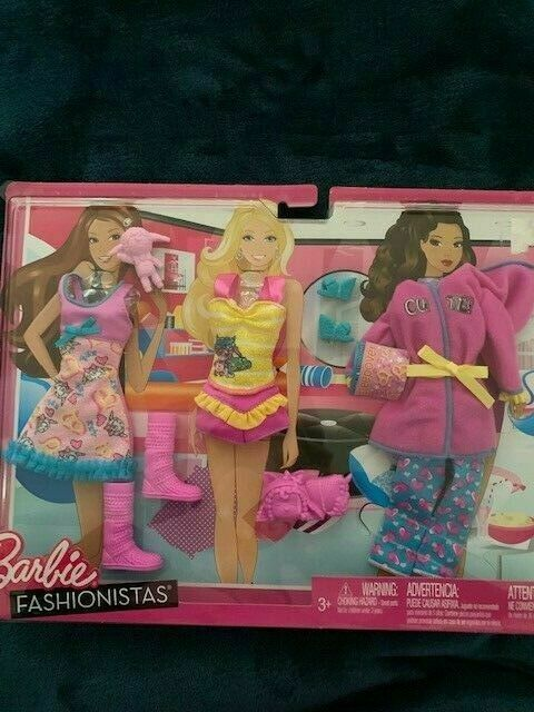 MATTEL BARBIE Age 3 Set of 3 Rock Star Outfits DOLL CLOTHES