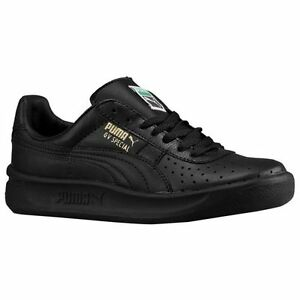 Image is loading New-BABY-Puma-GV-Special-Black-Metallic-Gold-
