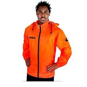 check out 172e3 c17fc Details about K-way legea uomo donna bambino impermeabile pioggia  arancione/nero verde/azzurro