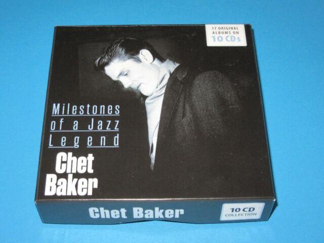 CHET BAKER/Milestones of a Jazz Legend - 17 original albums on 10 CD-Box