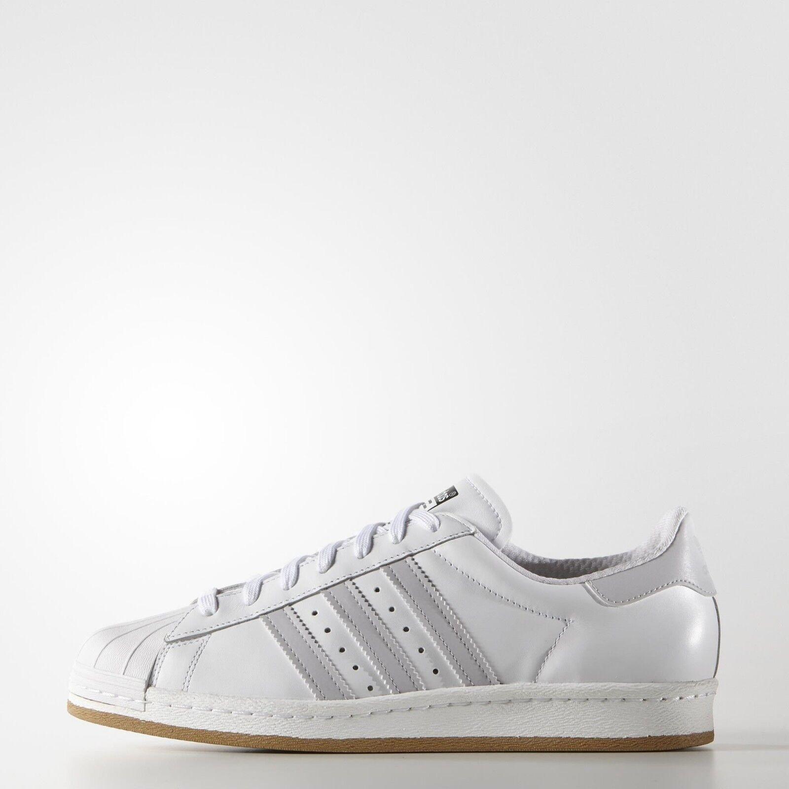 Adidas Superstar 80's Reflective Nite Jogger Weiß  UK 8