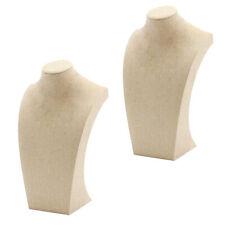 Simple Elegant Necklace Pendant Display Bust Stand Mannequin12x20cmamp20x34cm