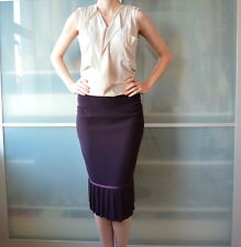 JIGSAW burgundy pencil skirt business suit ~ UK 12