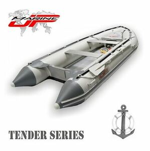 JP-MARINE-9-5-FOOT-TENDER-INFLATABLE-BOAT-ALUMINUM-FLOOR-290-DINGHY-RAFT