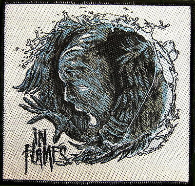 """IN FLAMES PATCH / AUFNÄHER # 9 """"SIREN CHARMS"""""""
