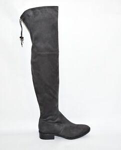 c3b839e7a25 Sam Edelman  Paloma  Sz 8.5 Over-the-Knee Gray Suede Boots OTK T3