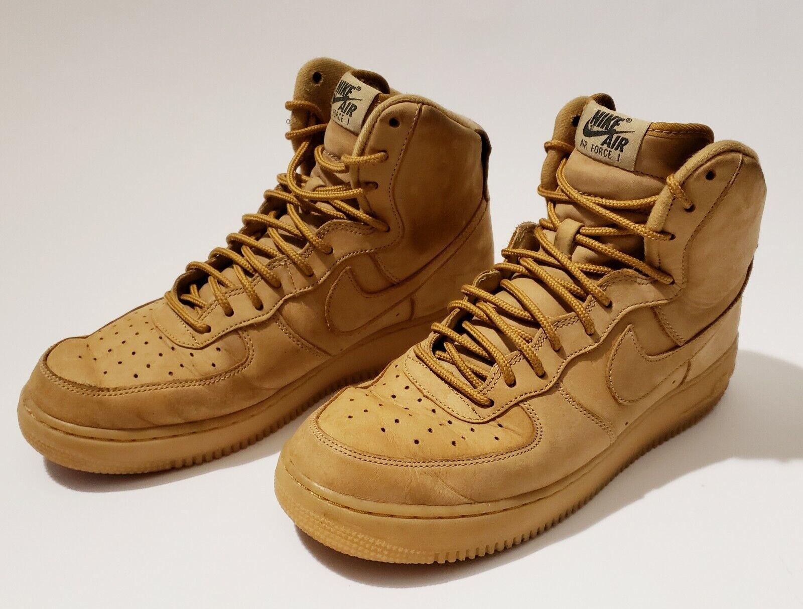 Nike Air Force 1 High 07 Lv8 WB 882096-200 Flax Wheat DS