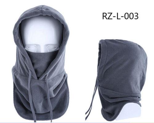 Winter Fleece Beanies Hat for Men Women Skull Ski Neck Warm Balaclava Face Cover