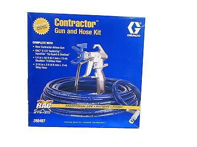 Graco RAC X Contractor High Quality Airless Spray Gun 288487 Gun Hose Whip Kit