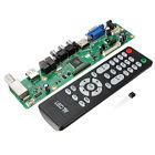 VGA HDMI AV TV Motherboard USB Interface V29 LCD Controller Board Remote Control