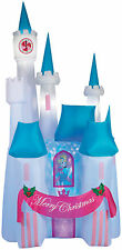 CHRISTMAS SANTA CINDERELLA Kaleidoscope CASTLE  AIRBLOWN INFLATABLE YARD DECOR 8