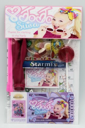 Jo Jo Bow Siwa Gift Packs Pack Party Bag 8 Items Included Only 99p Each