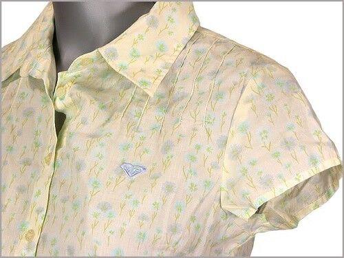 Roxy Quiksilver Donna Ragazze Pretty Estate Cotone Camicetta Camicia S//S 2 COLORI