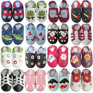 Shoeszoo-Carozoo-Chaussons-bebe-CHAUSSURES-CUIR-SOUPLE-POUR-unisexe