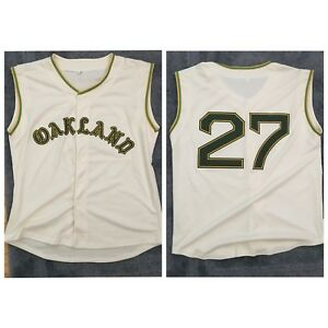 size 40 3ad3b 27fd3 Details about Catfish Hunter 1968 Oakland Athletics A's Vintage Jersey Mens  Medium Custom NEW!