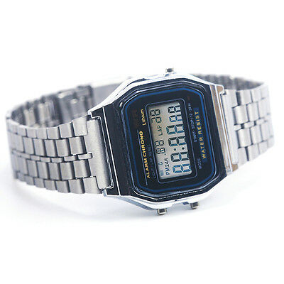 Unisex Square Dial Digtial Display Wristwatch  Sports Watch Dress Gift 1PC