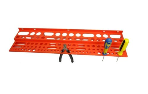 """Large Tool Storage Rack for 96 Tools Garage Wall Store 24/""""Hanger L610 W155 D70mm"""