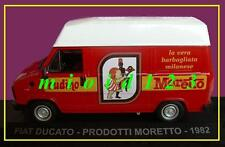 1/43 - Fiat Ducato : PRODOTTI MORETTO - 1982 - Die-cast