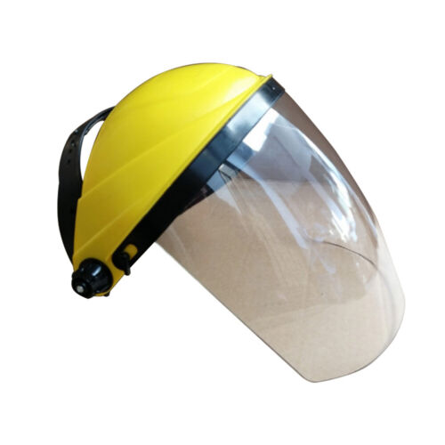 Safety Full Face Shield Clear Visor Eye Protection Grinding Welding Supply
