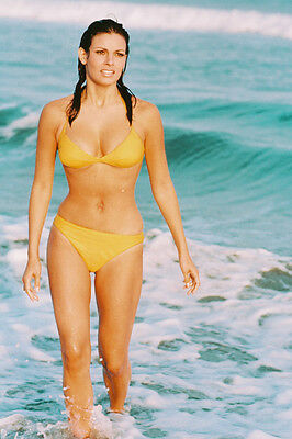 RAQUEL WELCH BIKINI IN SURF 24X36 COLOR POSTER PRINT