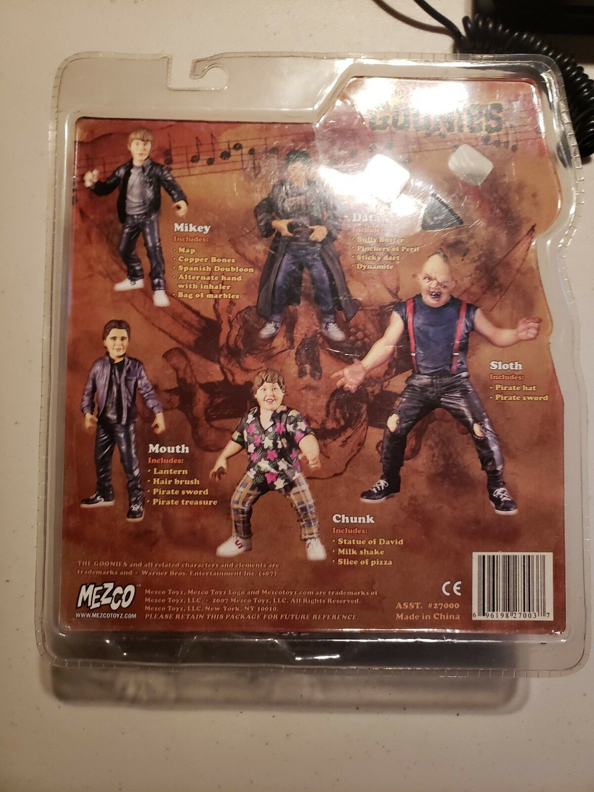 THE THE THE GOONIES MIKEY ACTION FIGURE SEAN ASTIN RICHARD DONNER MOVIE TOY COLLECTIBLE bbfcea