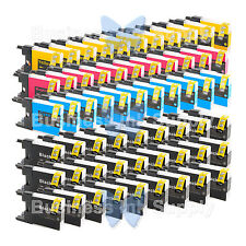 60 PACK LC71 LC75 Compatible Ink Cartirdge for BROTHER Printer MFC-J435W LC75