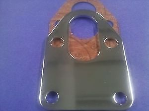 SBC Chevy Chrome fuel Pump Mounting Plate