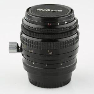 Nikon-PC-Nikkor-35mm-f-2-8-Non-Ai-Lens-in-Very-Good-Condition-w-Original-Case