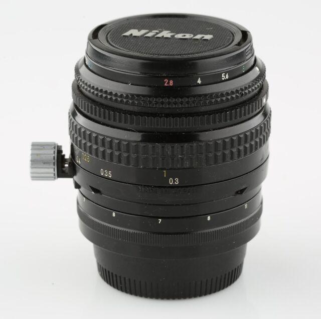 Nikon PC Nikkor 35mm f/2.8 Non-Ai Lens in Very Good Condition w/ Original Case