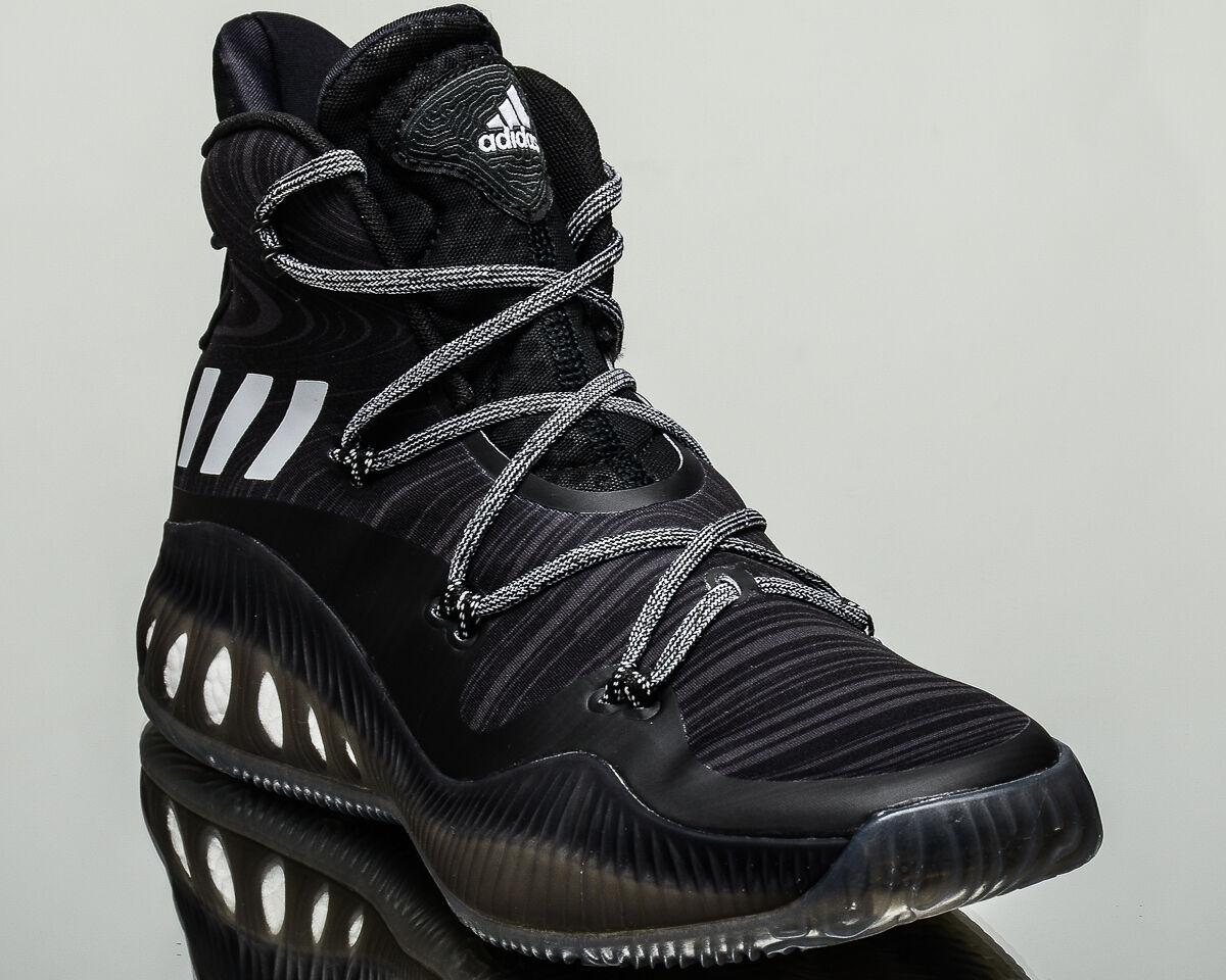 Adidas Crazy Explosive hombres Tenis Negro de Basketball Nuevo Negro Tenis Blanco Gris B42421 127b81