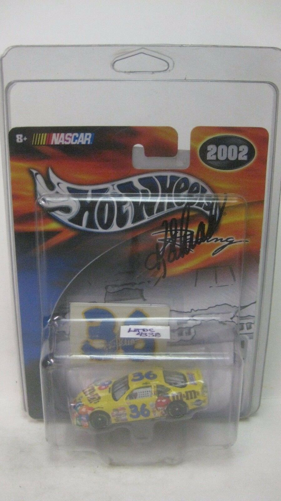 Raro Nascar 2002 Ken Schrader Firmado Gran Premio 1 64 de Metal Nuevo dc1426