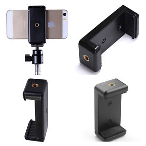 Mobile-Cell-Phone-Mount-Clip-Bracket-Holder-For-Tripod-monopod-Stand