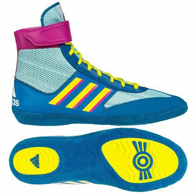 Yellow|Green Running – Adidas Combat Speed.4 Wrestling Shoes Mens YellowGreen
